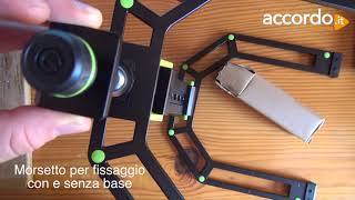 Gravity Laptop Stand LTS 01 B unboxing