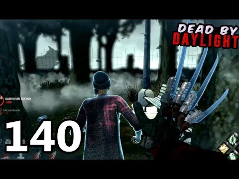 "New Killer! ""Freddy Krueger"" Gameplay - Ep.140 [Dead By Daylight]"