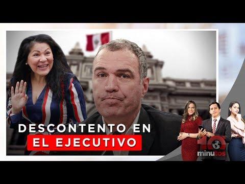 Ejecutivo rechaza incorporación de Yesenia Ponce a PpK - 10 minutos Edición Tarde