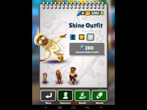Subway Surfers All Characters And Hoverboards 2014