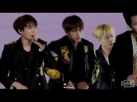 [FANCAM] [160723] BTS concert in Beijing - No more dream (Taehyung focus)