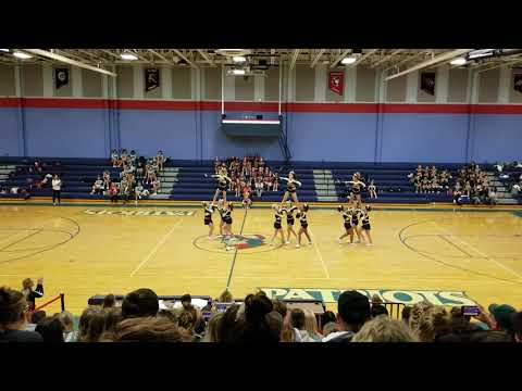 Hedgesville High School at The Eastern Panhandle Athletic Conference Cheer Competition 2018