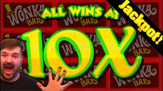 🍫🍫🍫 Landing the 10X Multiplier 🍫🍫🍫 MASSIVE JACKPOT HAND PAY! 🍫🍫🍫