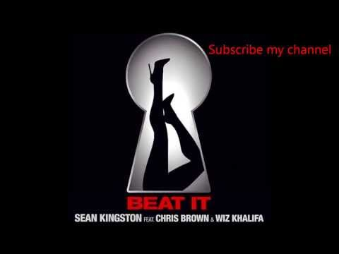Sean Kingston-Beat It Ft. Chris  Brown, Wiz Khalifa  (LYRICS)(HQ)
