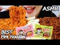 까르보불닭 짜장불닭 리얼사운드 먹방 ASMR Carbonara Blackbean Spicy Fire Noodles (EATING SOUNDS) NO TALKING MUKBANG