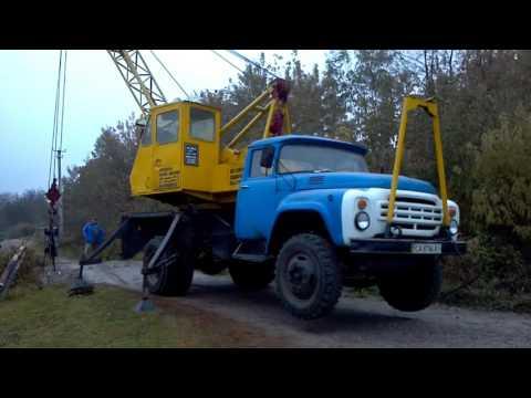 Авто-кран на базе автомобиля ЗИЛ-130