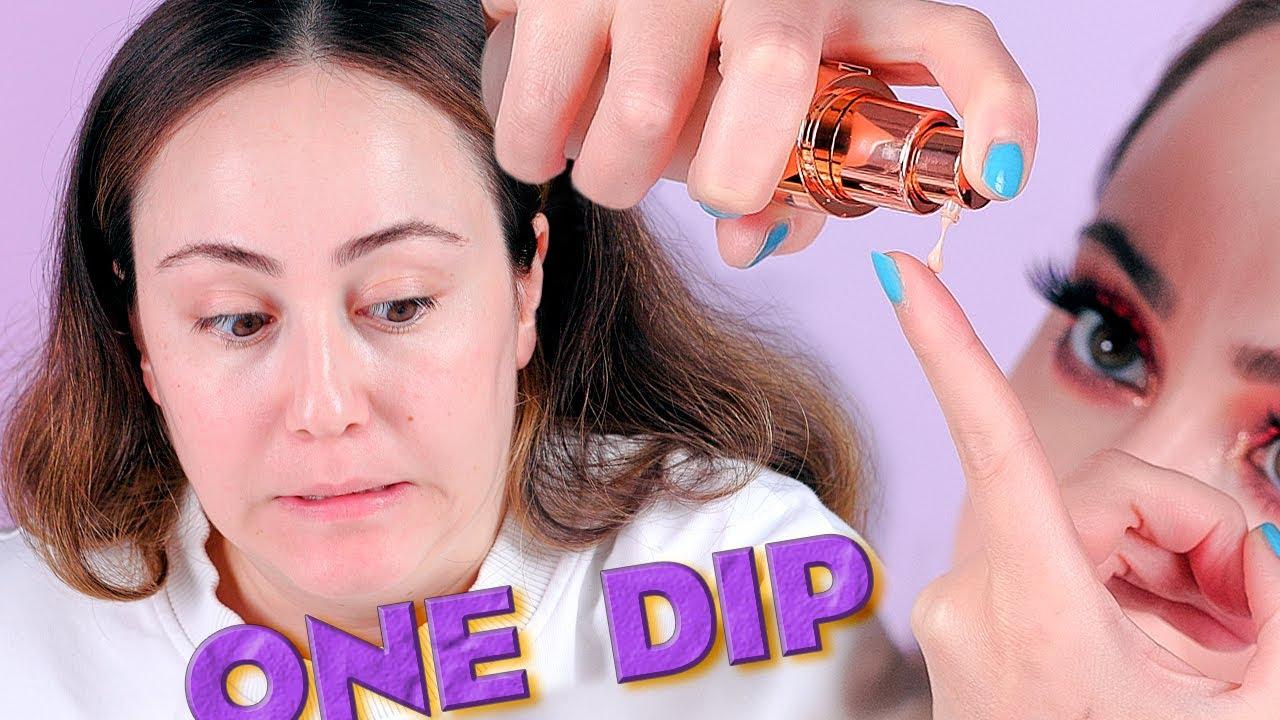 One Dip Makeup Challenge ✍️ Kommt man mit so wenig aus?