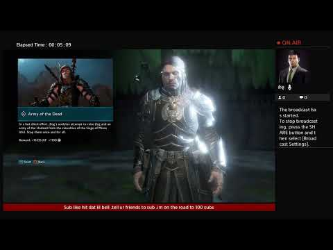 Middle-earth steam come watch and have fun  