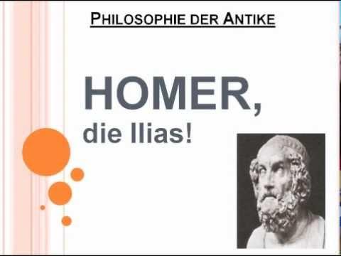 Homer, die Ilias!