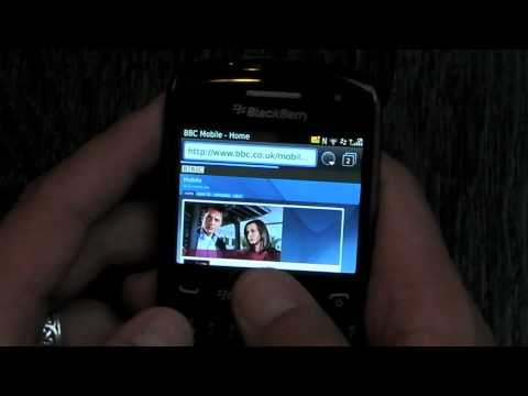 Hands on video with the BlackBerry Curve 9360