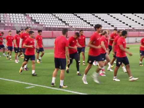 Entrenamiento Sevilla FC 21 07 17