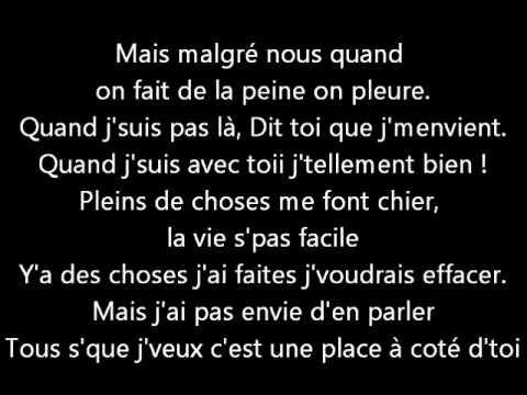 Mademoiselle K - À côté Lyrics | Musixmatch