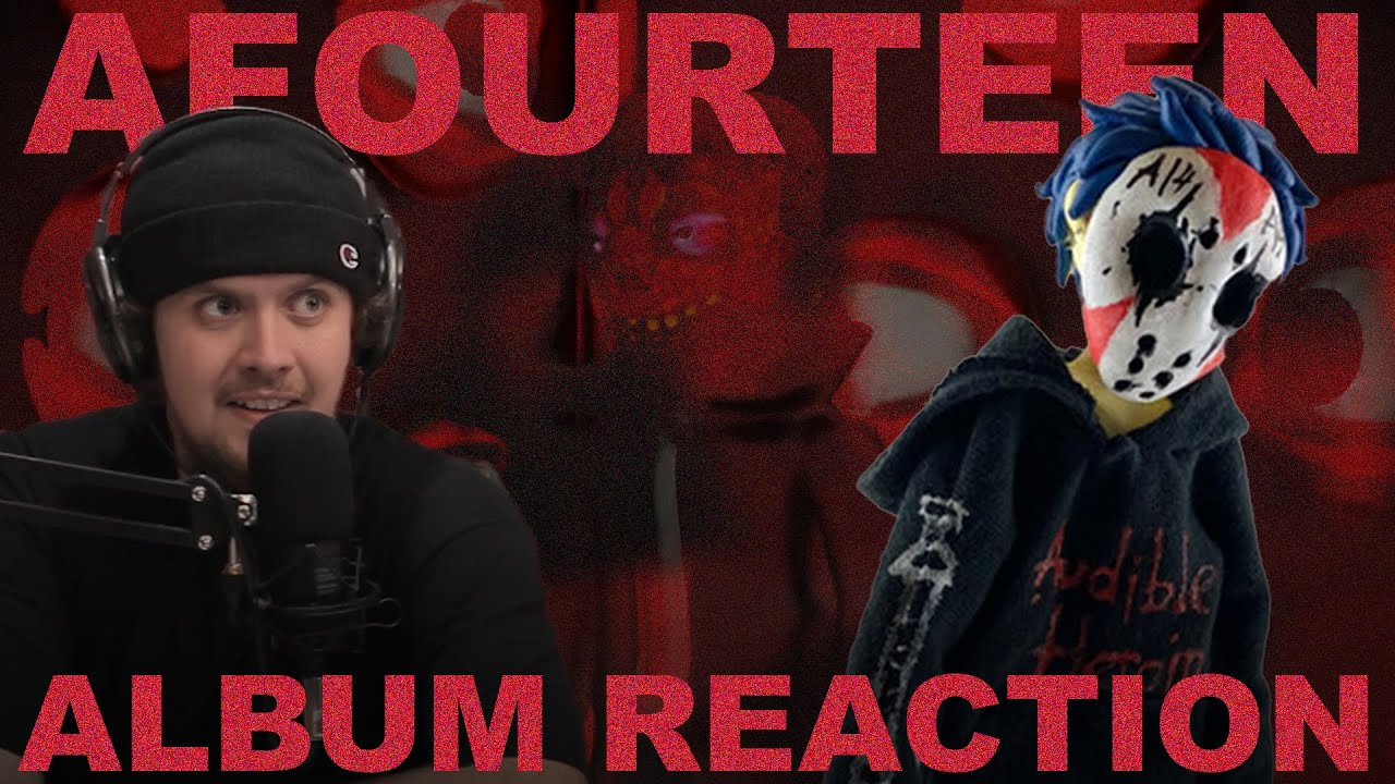 AFOURTEEN's brutal and chaotic opus- 'AUDIBLE HEROIN' (album reaction)