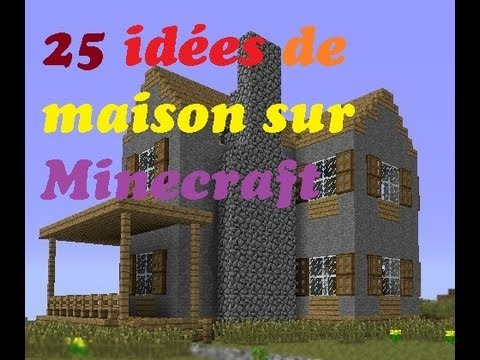 25 id es de maison minecraft comment fr youtube. Black Bedroom Furniture Sets. Home Design Ideas