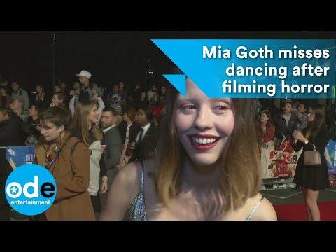 Suspiria: Mia Goth misses dancing after filming horror