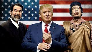 اغرب ما قاله الرئيس الامريكي دونالد ترامب عن صدام حسين والقذافي