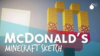 cmm mcdonald s   česk minecraft sketch