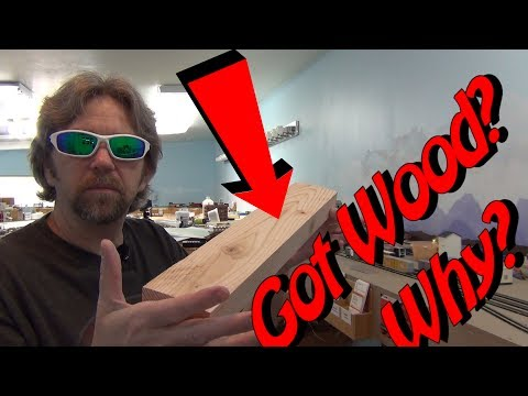 Got Wood? Temporary building mock up for model railroad operations on your layout – 444