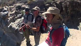 Angelo State Geology trip to the Indio Mtns. 3/13/2016