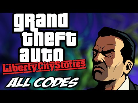 GTA Liberty City Stories - ALL CHEATS + Demonstration [PS2/PSP]