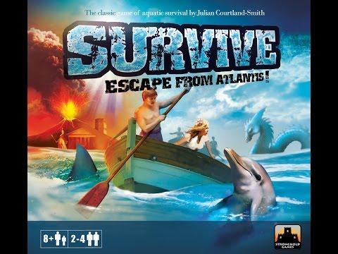 Survive: Escape from Atlantis! - Episode 2
