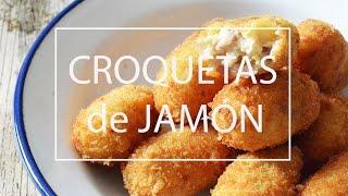 CROQUETAS DE JAMON CASERAS Y CREMOSAS| Las María Cocinillas