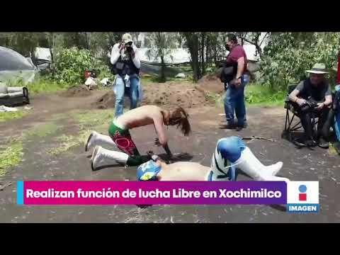 ¡La Lucha Libre llegó a Xochimilco! | Noticias con Yuriria Sierra