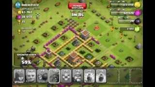 clash of clans 120'000 gold 154'000 elexier +11 trophies | Rui - kings