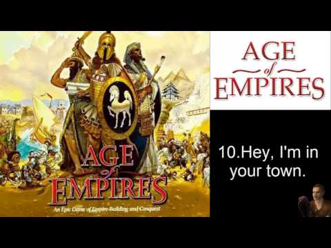 Age of Empires Taunts