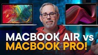 MacBook Air vs MacBook Pro — 13-inch FIGHT!