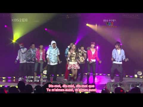 Big Bang & Wonder Girls - Tell Me & Lie (VOSTFR)