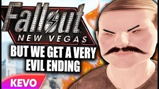 Fallout New Vegas but we get a very evil ending