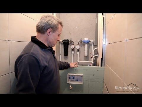 Видео Ремонт в туалете фото