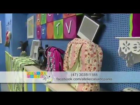 Ateliê na TV- Rede Século 21-26.11.14- Patricia Muller e Fabio Alves
