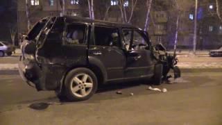 В Запорожья перевернулась инкассаторская машина(Один из водителей с места происшествия сбежал. Авария произошла в четверг, 19 января, около 22.00 на пересечени..., 2017-01-19T23:09:55.000Z)