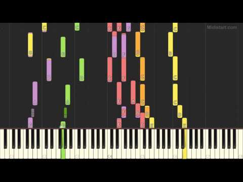 National Anthems - Jamaica (Piano Tutorial) [Synthesia]