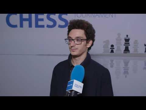 Fabiano Caruana - Post Round 9 Interview