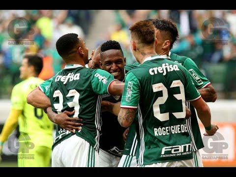 GOL DE MINA! Palmeiras 2 x 0 Coritiba - Campeonato Brasileiro 2016