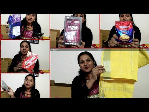Amazon sale/500gm Biryani rice for 1 rupee/Groceries from Amazon great sale/Indianmom busy lifestyle
