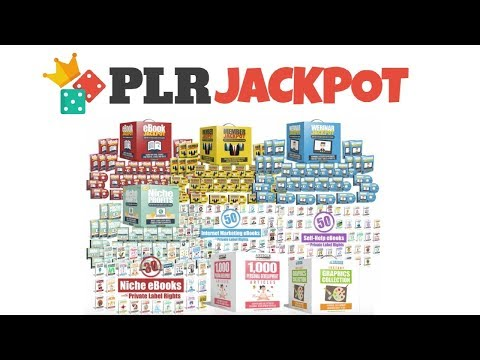 PLR Jackpot Review Bonus - 134 High Quality Private Label Rights Products