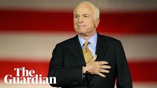 The life of John McCain: 'An American hero'