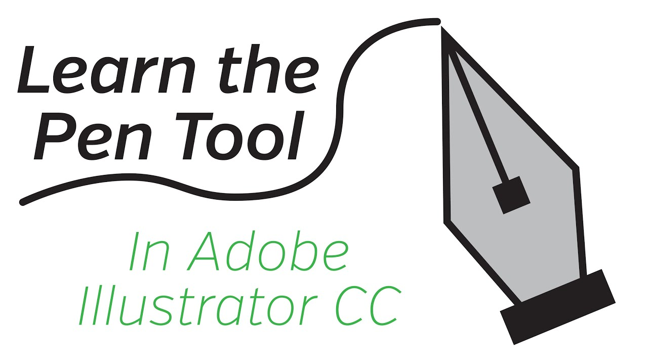 adobe illustrator cc pen tool tutorial youtube