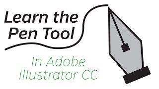 Adobe Illustrator CC - Pen Tool Tutorial