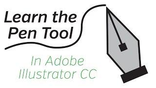 Adobe Illustrator CC - Pen Tool Tutorial