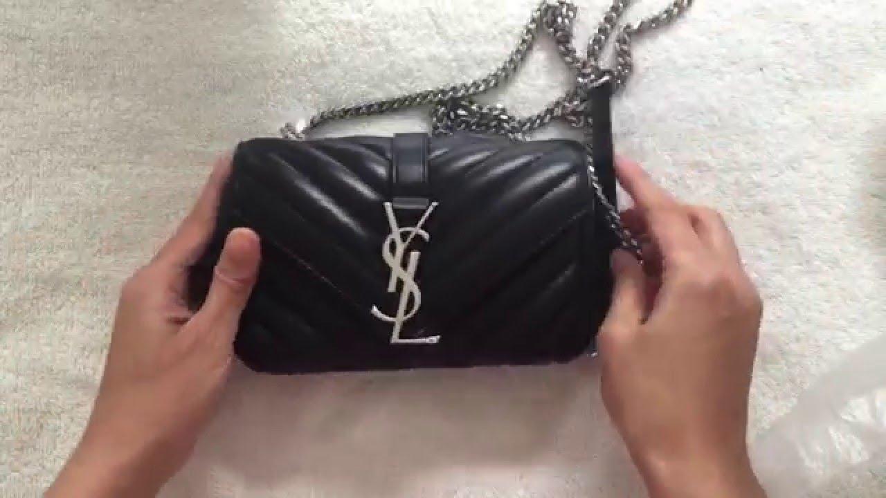 saint laurent handbags - Unboxing: YSL Saint Laurent Baby Monogram Matelasse Bag - YouTube
