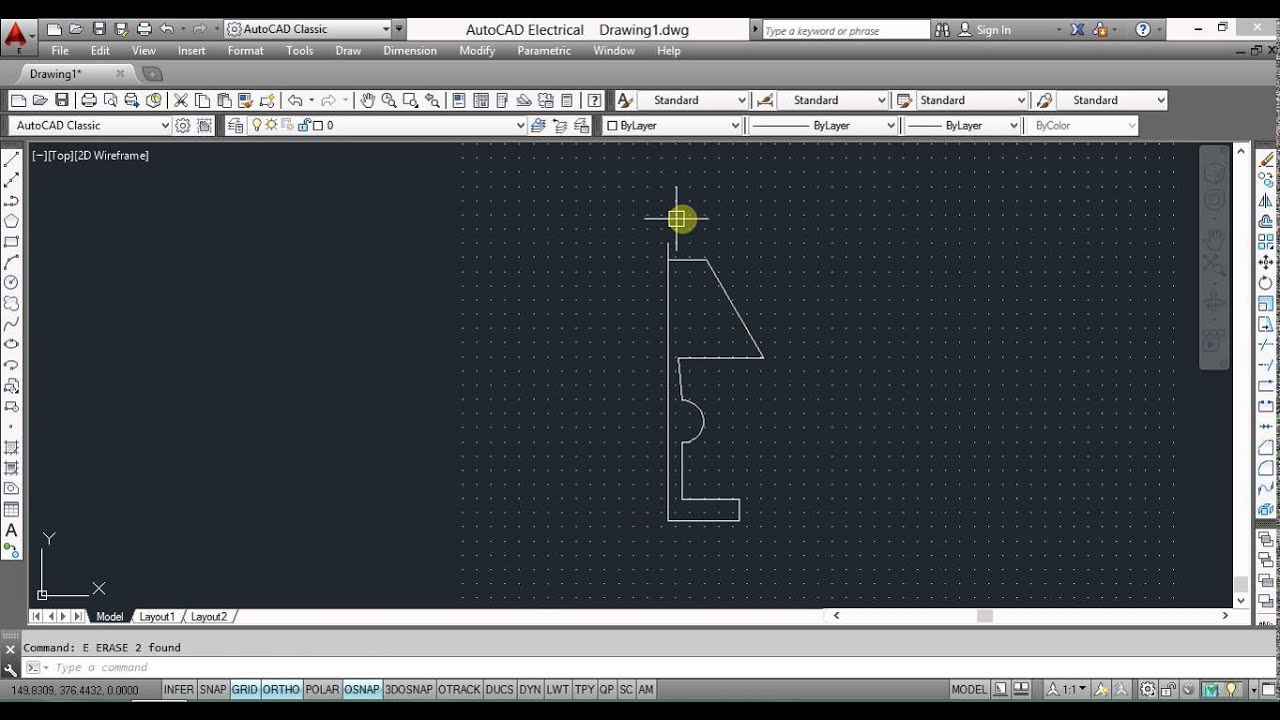 #AutoCAD Tutorial :: How To Draw Lamp In 3d - YouTube