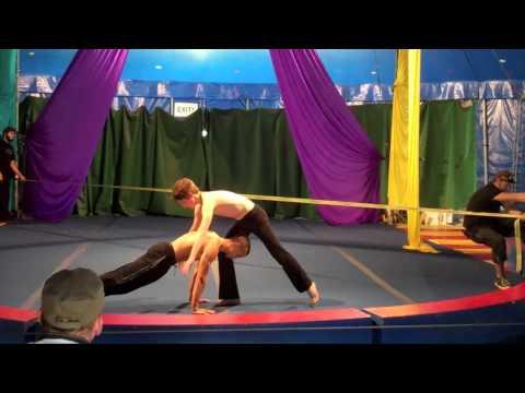 Circus Smirkus Hand to Hand Transition Act