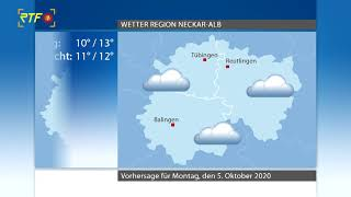 RTF.1-Wetter 04.10.2020