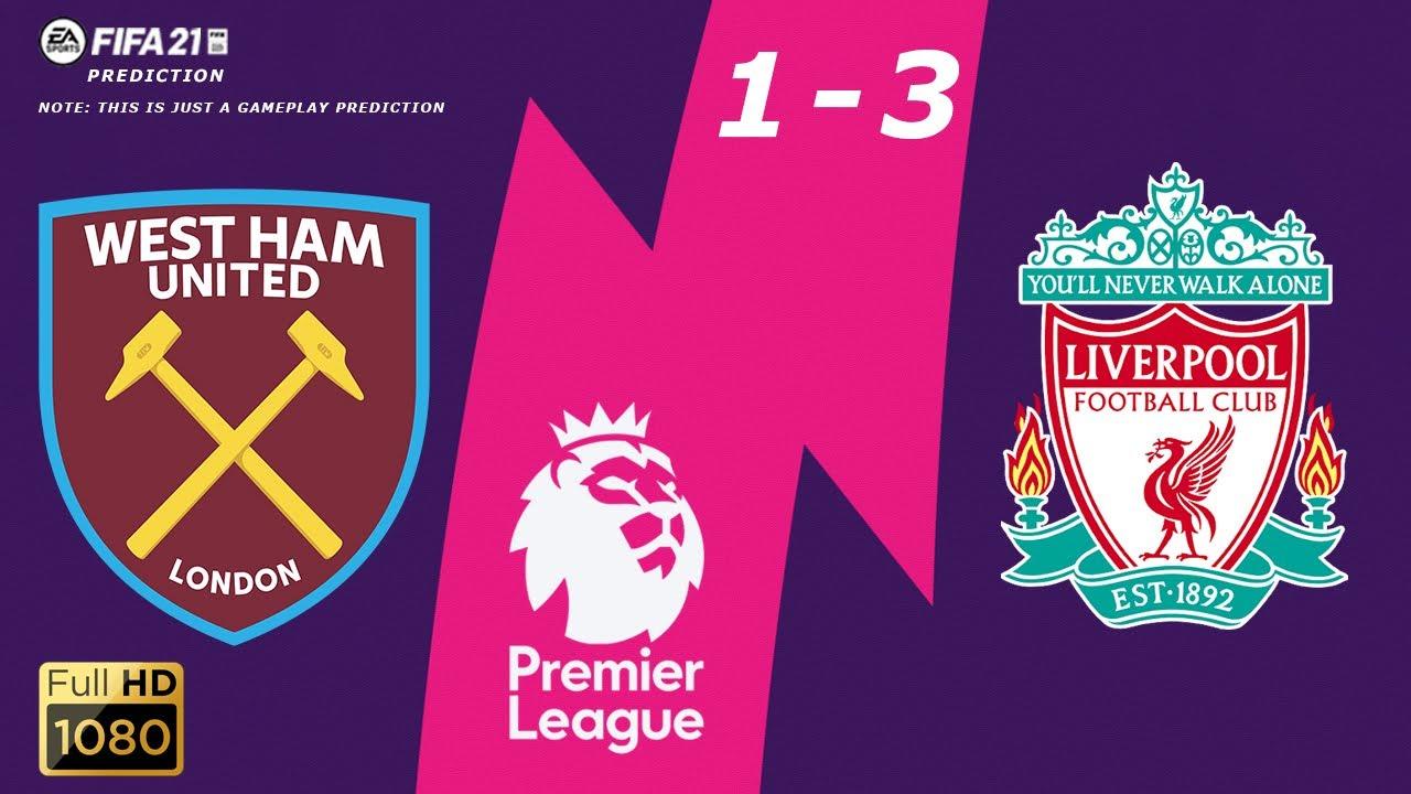 West Ham vs Liverpool - Highlights - Premier League 2020/21 - 31/01/2021 |  Fifa 21
