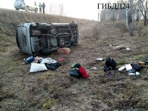 Пятеро детей пострадали в ДТП в Ужурском районе
